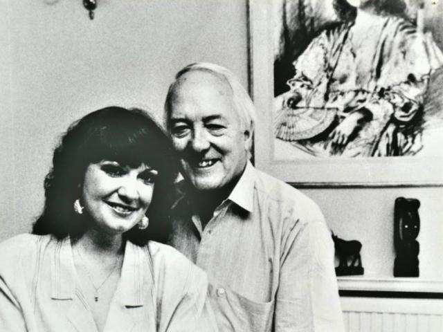 Douglas and Kim Reeman at home in Surrey.