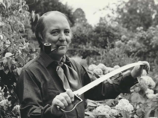Alexander Kent at the time of the launch of the Richard Bolitho series in 1968.